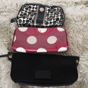 Set of cases coach, Kate spade, Marc Jacobs